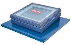 Velux Flat Roof Skylight Custom Pitched  Flashings