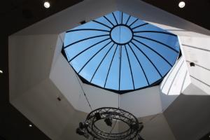circular skylight segmented