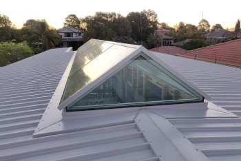 Ridge Light Glass Roof